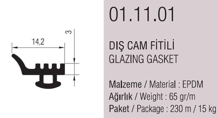 01.11.01 Dış Cam Fitili - 230 Metre