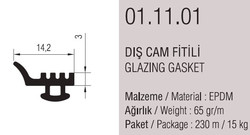01.11.01 Dış Cam Fitili - 230 Metre - Thumbnail