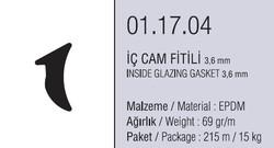 01.17.04 İç Cam Fitili 3.6 mm - 215 Metre - Thumbnail