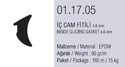 01.17.05 İç Cam Fitili 4.6 mm - 165 Metre - Thumbnail