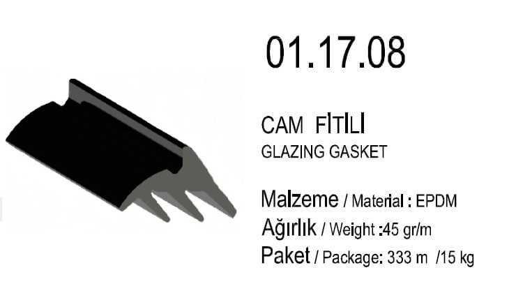 01.17.08 Cam Fitili 2.5 mm - 333 Metre
