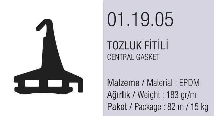 01.19.05 Tozluk Fitili - 82 Metre