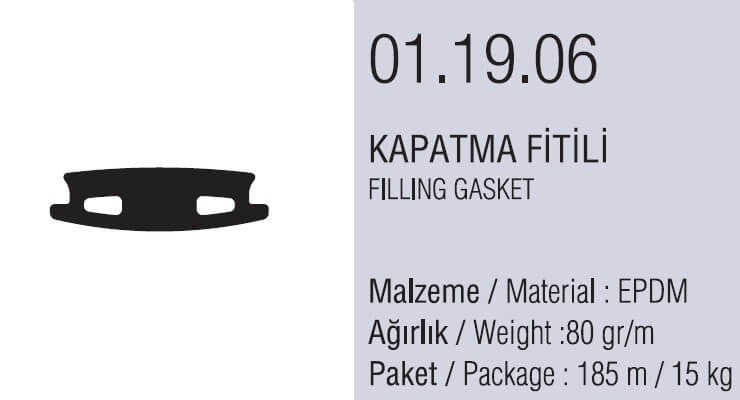 01.19.06 Kapatma Fitili - 185 Metre