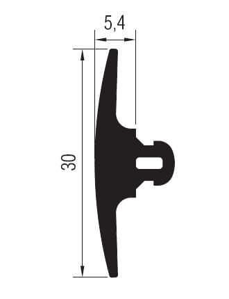 01.21.01 Basma Fitili 5.4 mm - 101 Metre