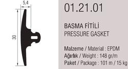 01.21.01 Basma Fitili 5.4 mm - 101 Metre - Thumbnail