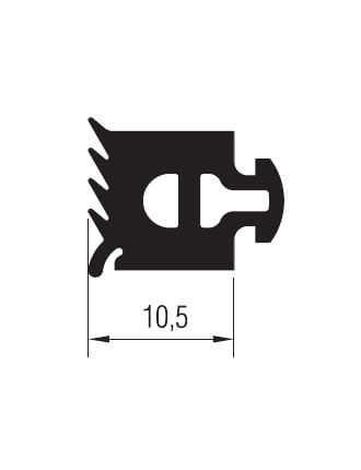 01.02.27 Cam Fitil 10.5 mm - 127 Metre
