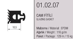 01.02.27 Cam Fitil 10.5 mm - 127 Metre - Thumbnail