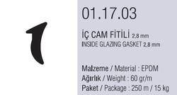 01.17.03 İç Cam Fitili 2.8 mm - 250 Metre - Thumbnail