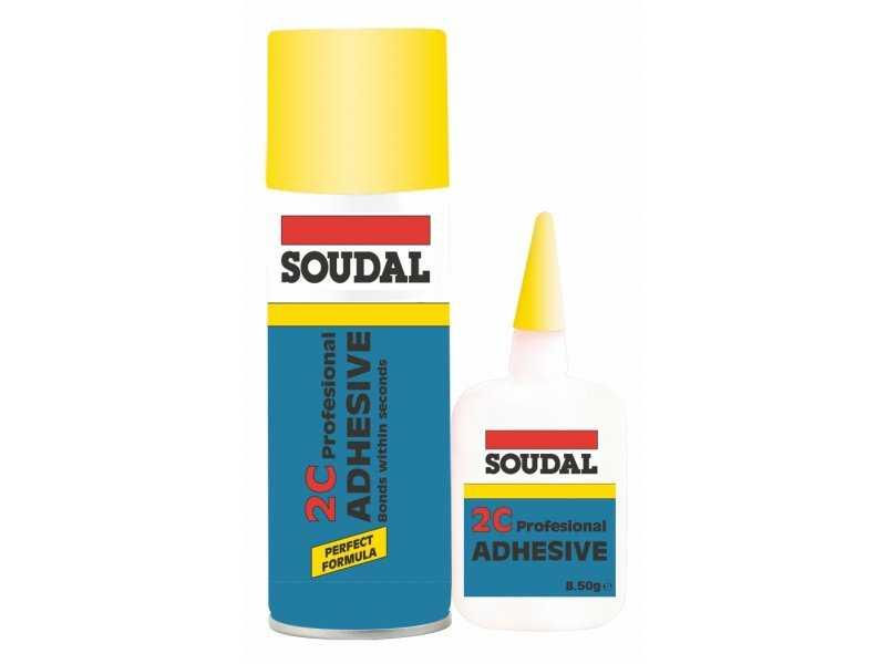 Soudal Adhesive 2C Hızlı Yapıştırıcı 200 Ml + 50 Gr