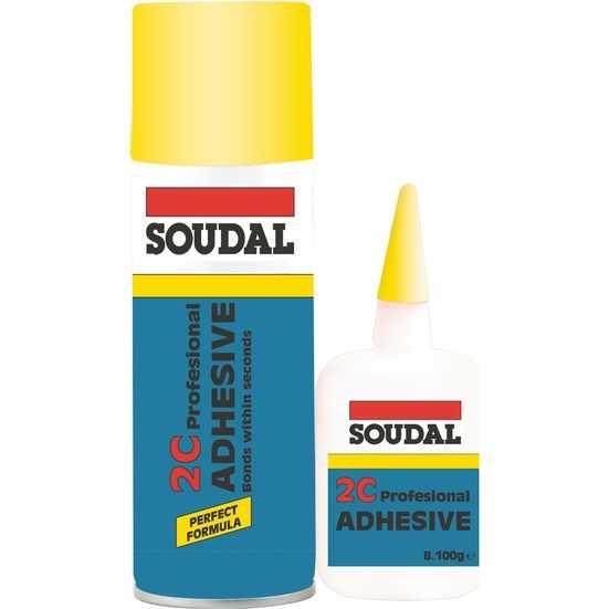 Soudal Adhesive 2C Hızlı Yapıştırıcı 400 Ml+100 Gr
